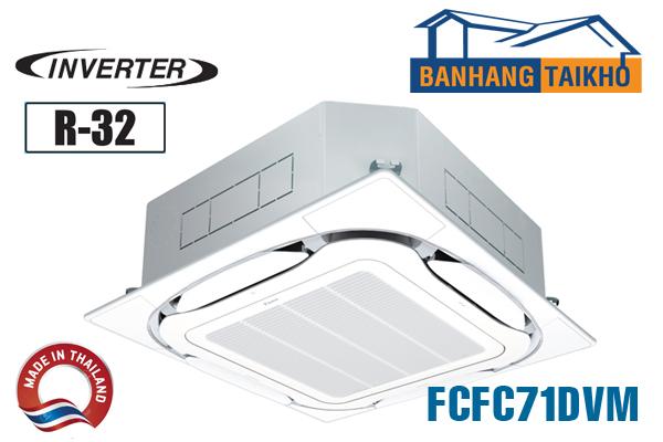 Điều hòa âm trần Daikin inverter 24000BTU FCFC71DVM